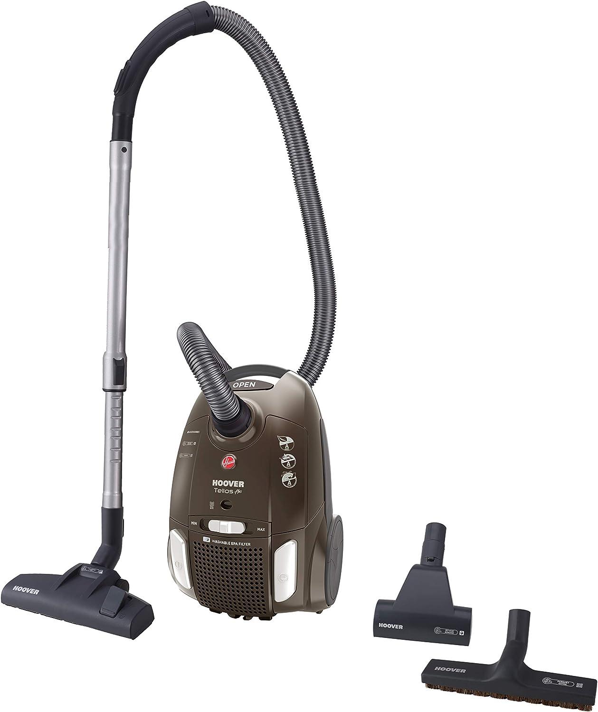 Hoover Telios Plus 700 W - Aspiradora (700 W, Aspiradora cilíndrica, Secar, Bolsa para el Polvo, 3,2 L, EPA): Amazon.es: Hogar