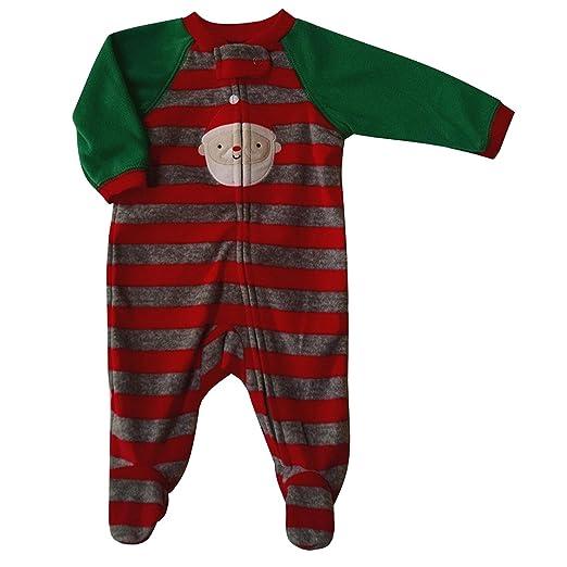 d0167c5929 Carter s Baby Boys  quot Santa quot  Fleece Blanket Sleeper - (Size 0-3