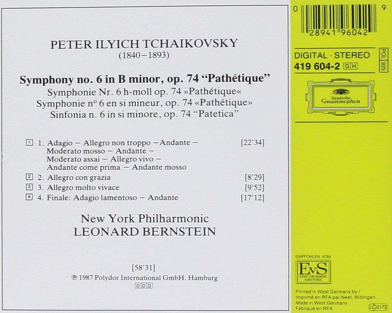 Symphonie Nr. 6 \
