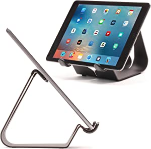 Thought Out Simplex Stand Black - Made in USA - Compatible with Apple iPad, Pro, Air, Air 2, 12.9, 11, 10.5, 10.2, 9.7, Surface Galaxy Tablet Holder