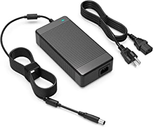 19.5V 12.3A 240W AC Charger Fit for Dell Precision 7720 7730 7740 P29E P34E P34E002 Mobile Workstations Laptop Power Supply Adapter Cord