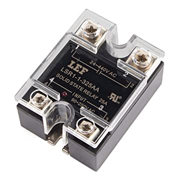 Uxcell a15111100ux0292 solid state relay module ssr 25aa ac ac uxcell a15111100ux0292 solid state relay module ssr 25aa ac ac 25a 80 sciox Gallery