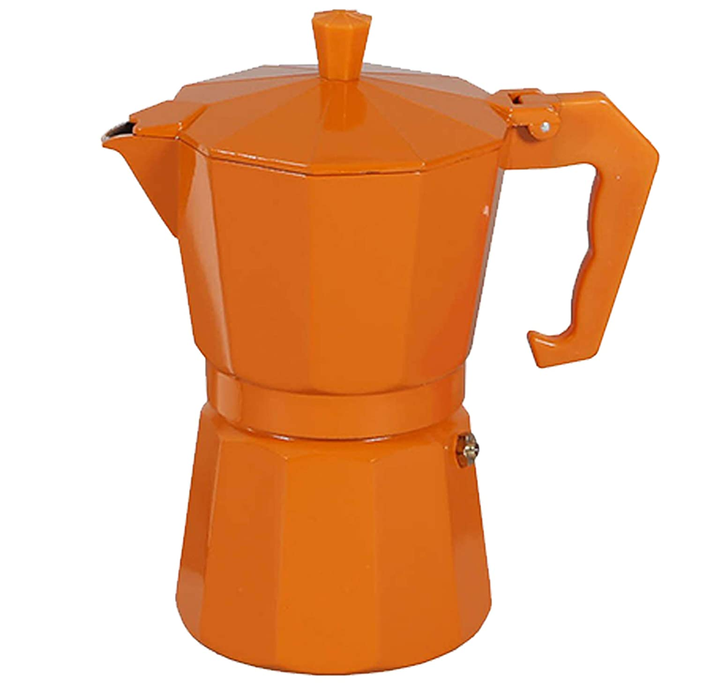 Excelsa Chicco Color Naranja cafetera de 3 Tazas
