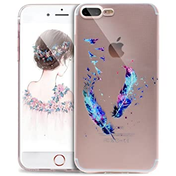 iphone 8 coque plume
