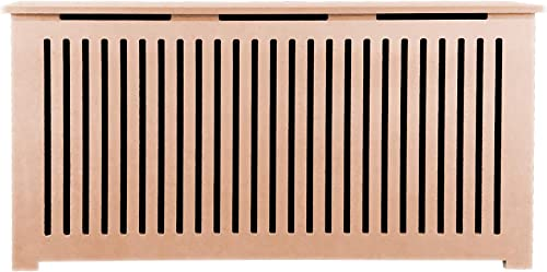 Fichman Furniture Unpainted Radiator Cover Kit, 54 L x 28 H 12 D