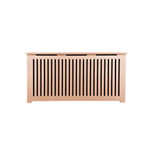 "Fichman Furniture Unpainted Radiator Cover Kit, 54"" L x 28"" H (12"" D)"