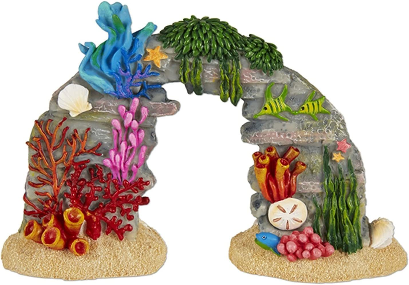 Miniature Fairy Garden Coral Reef with Sea Life