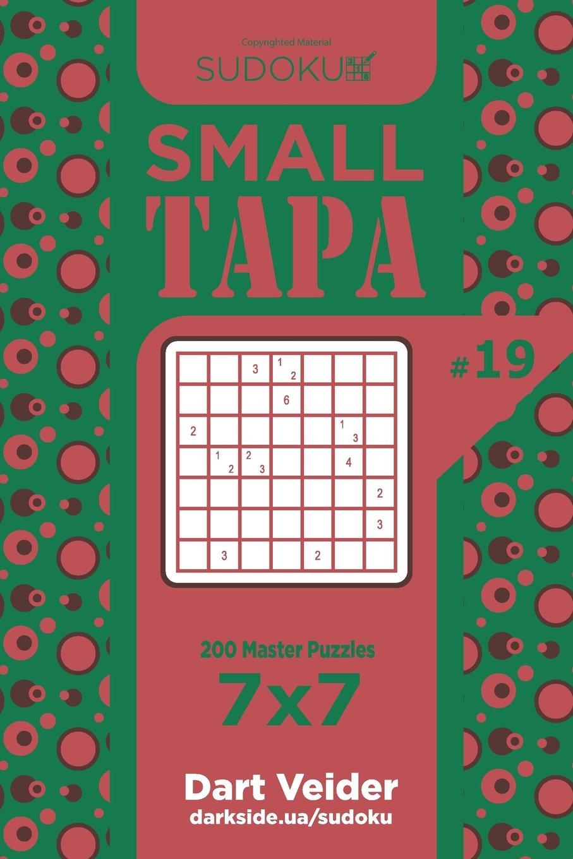 Sudoku Small Tapa - 200 Master Puzzles 7x7 (Volume 19) PDF