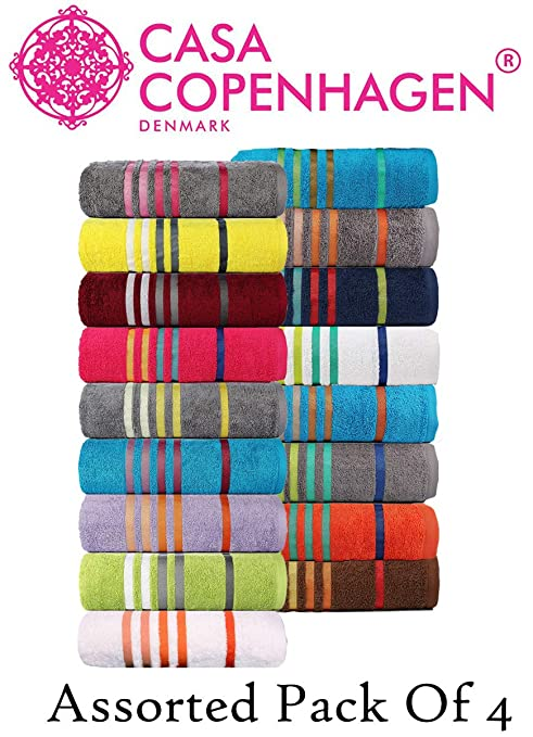 Yarn Dyed Multi-Stripe Face Cloth Assorted Colours