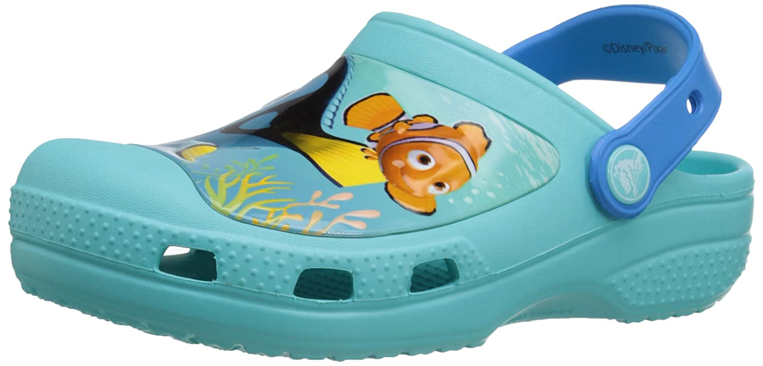 89cae9f3f crocs Kids Unisex Cc Finding Dory Pool Clogs  Buy Online at Low Prices in  India - Amazon.in