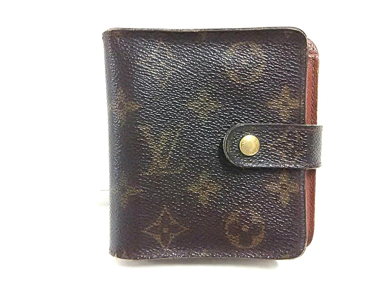 (ルイヴィトン) LOUIS VUITTON 2つ折り財布 コンパクトジップ M61667 【中古】 B07DNYQ9MG  -