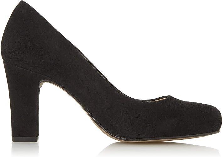 Block Heel Court Shoes Block Heel Suede