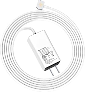 Wakeach60WMiniChargerforMacBookPro13inch(MadeAfterLate2012)ReplacementChargerforMagnetic2PowerAdapterTTipConnector PortableTravelMacBook A1435 A1425 A1502PowerBatterySupply