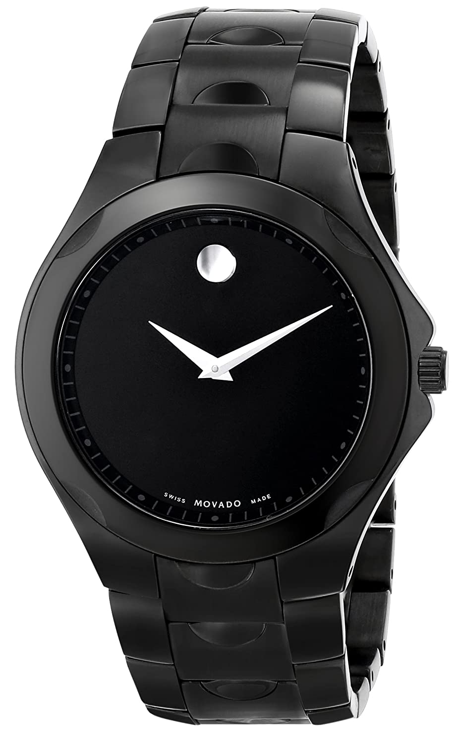 movado amazon dp men watches sport ca watch black pvd luno s
