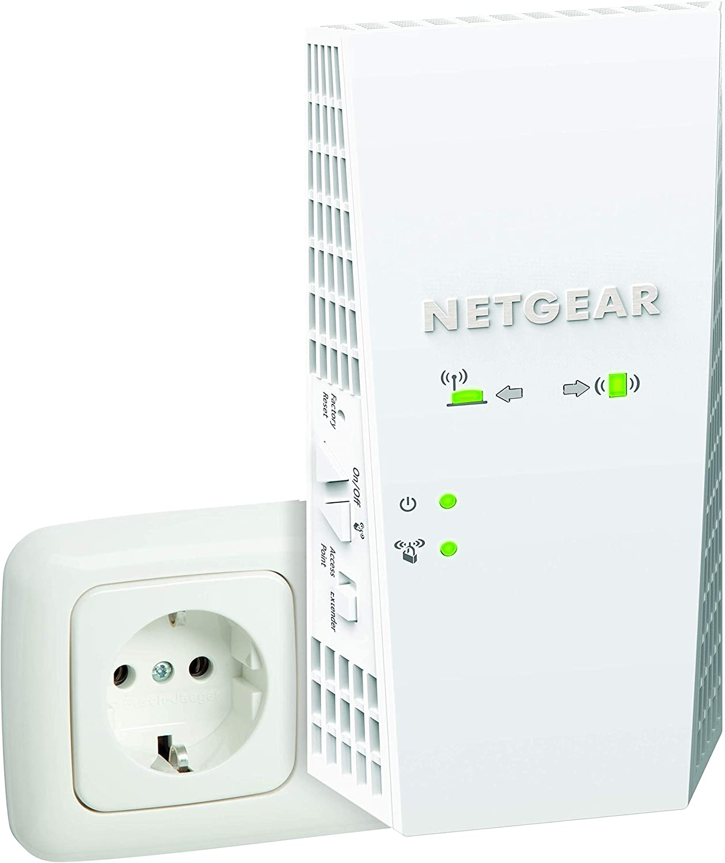 NETGEAR Répéteur WiFi Mesh (EX7300), Amplificateur WiFi AC2200, WiFi Booster, 2.2 Gigabit/s,...