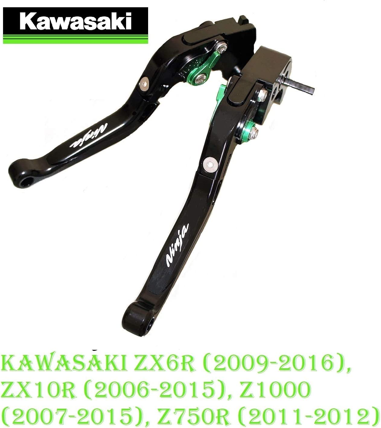 Motocicleta CNC Ajustable Palanca de Embrague de Freno para Kawasaki Z1000 2003-2006 Versys 1000 2012-2014 Kawasaki ZX6R ZX636R ZX6RR 2000-2004 ZX10R 2004 2005 ZX9R 2000-2003 ZX12R 2000-2005-TBGB