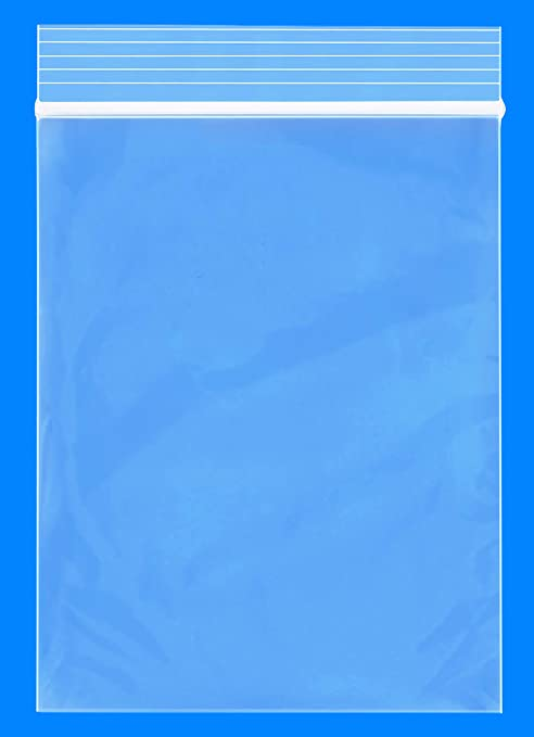 """1-1000 3x8 2MIL Poly Reclosable Ziplock Bags Clear Resealable Baggies 3/"""" x 8/"""""""