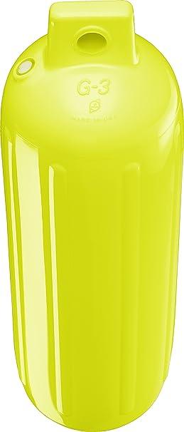 4.5 x 15.5 in. G-2 Saturn Yellow Polyform US G-2 Saturn Yellow Polyform G-2 Saturn Yellow Boat Fender