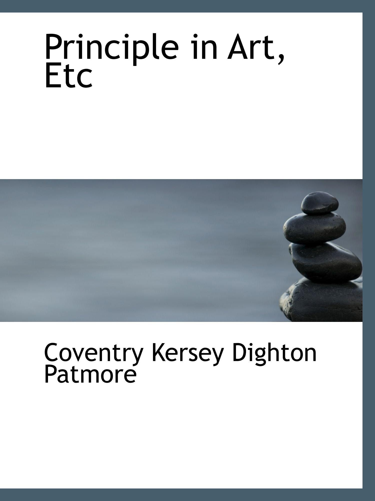 Read Online Principle in Art, Etc PDF