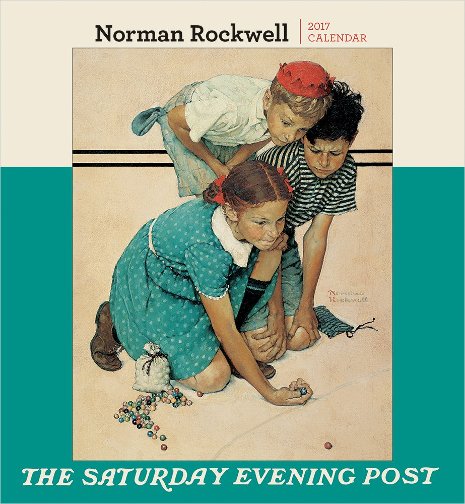norman rockwell the saturday evening post 2016 wall calendar