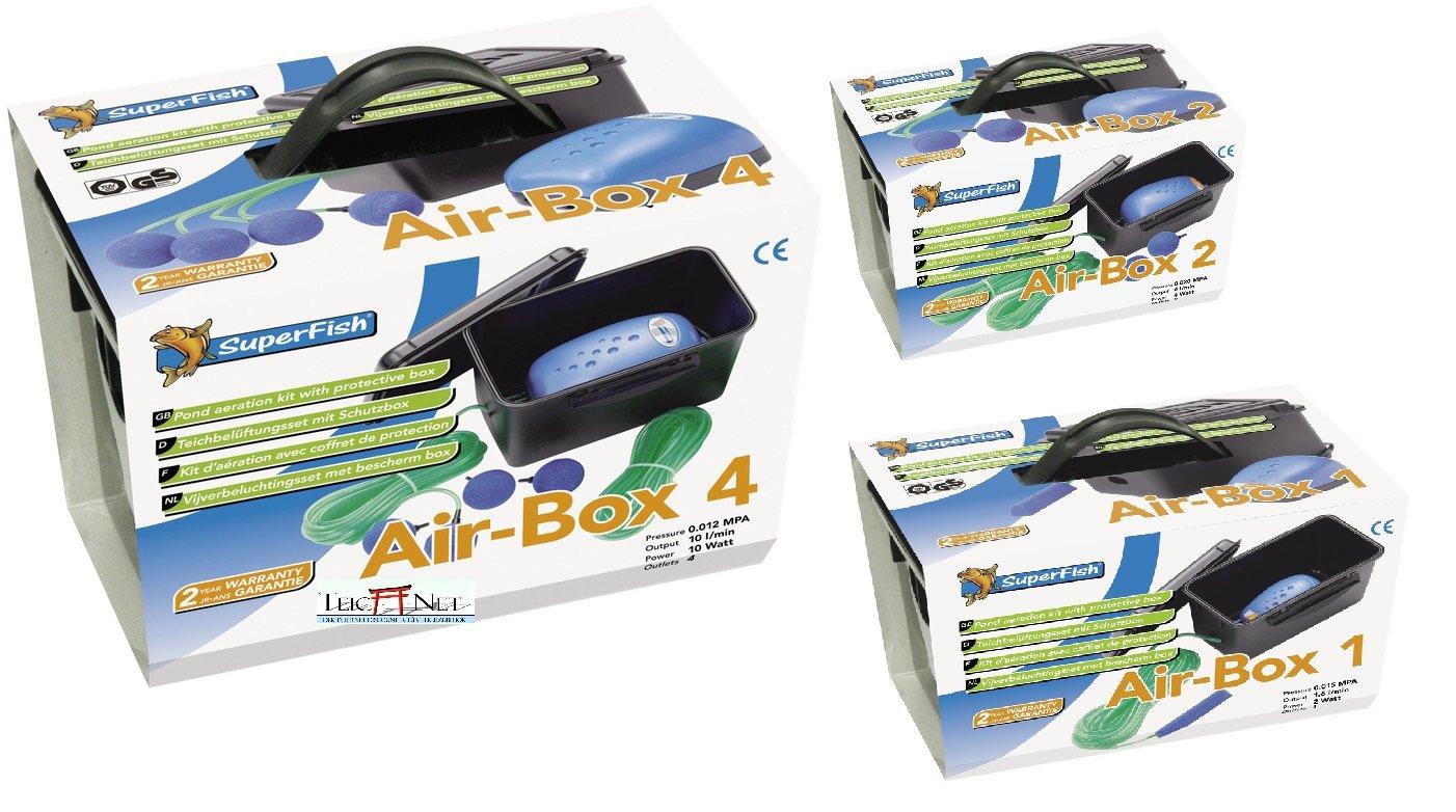 AIR BOX 240 L/H NR2 Superfish 07010330