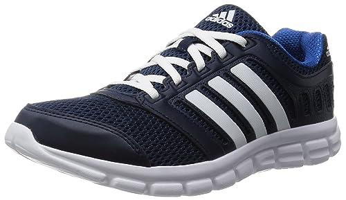 huge discount 8c11a 3e89b Adidas Breeze 101 2 M Scarpe da corsa, Uomo, Blu (Collegiate Navy