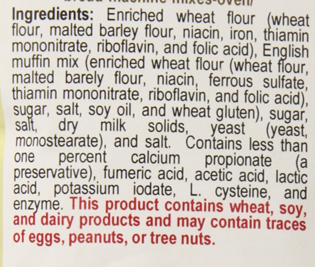 The Prepared Pantry English Muffin Bread Machine Mix, 22 Ounce (Pack of 20) by The Prepared Pantry (Image #2)