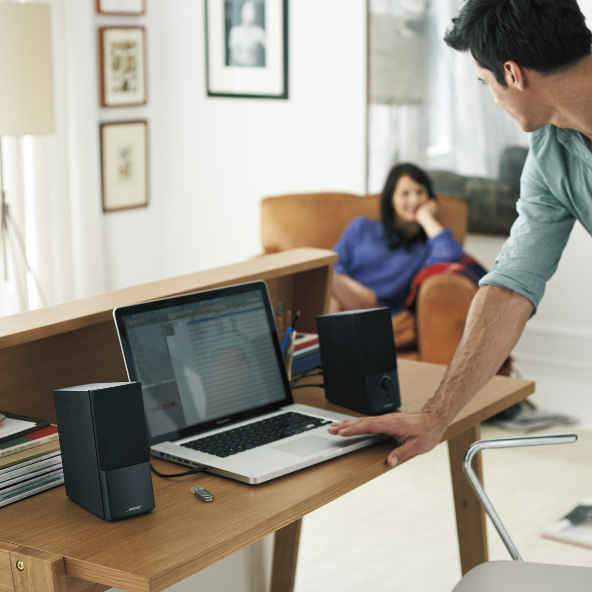 Bose Companion 2 Series III Multimedia Speakers - for PC (with 3.5mm AUX & PC input) by Bose (Image #7)