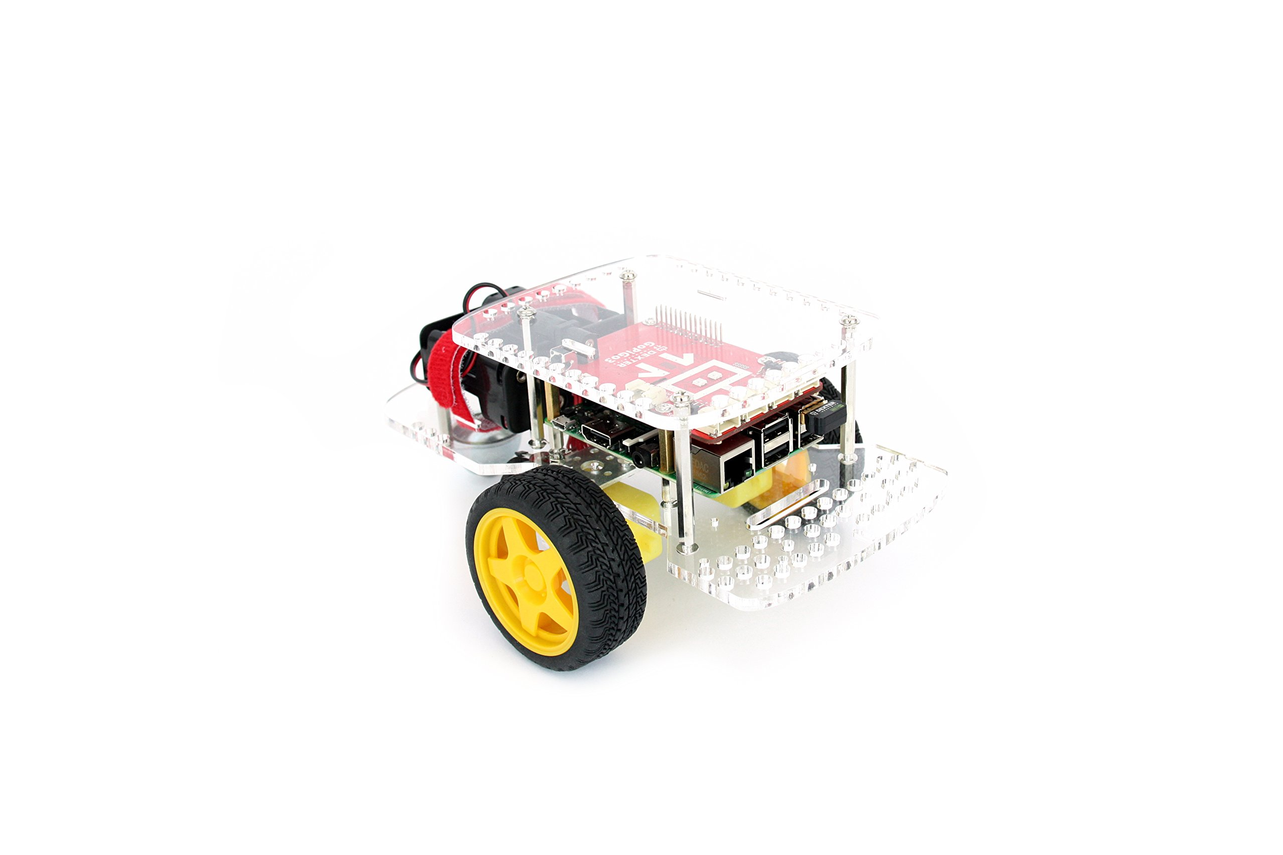GoPiGo3 Robot Base Kit for STEM Learning with the Raspberry Pi