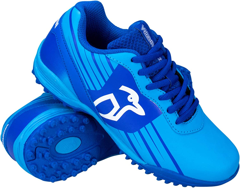 KOOKABURRA Chaussures de Hockey pour Enfant Bleu Taille 4