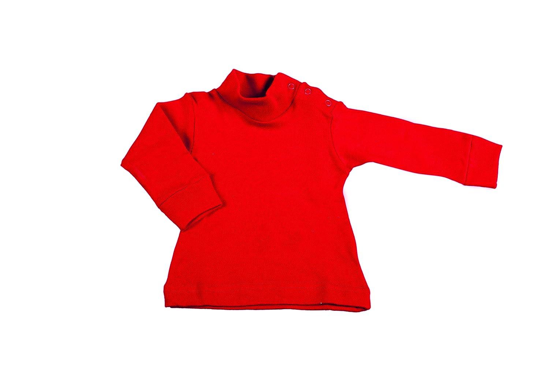 BabyVip - Sous-Vêtement Col Roulé pour bébé garçon et bébé fille, classique, coton, coton chaud, idéal pour l'hiver idéal pour l' hiver