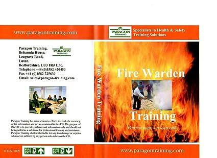 fire warden training powerpoint presentation amazon co uk dvd