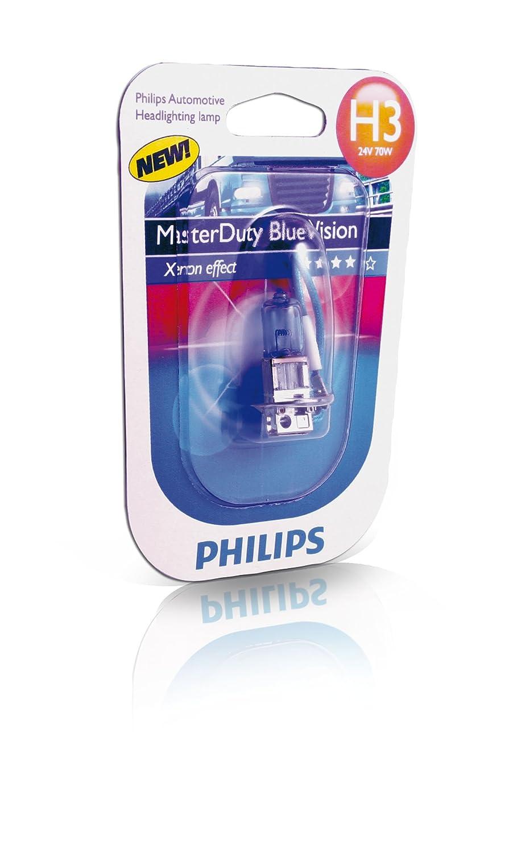Philips Ampoule de phare MasterDuty BlueVision H3 24 V 13336MDBVB1
