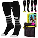 LANGOV Compression Socks For Women & Men Circulation - 20-30mmhg