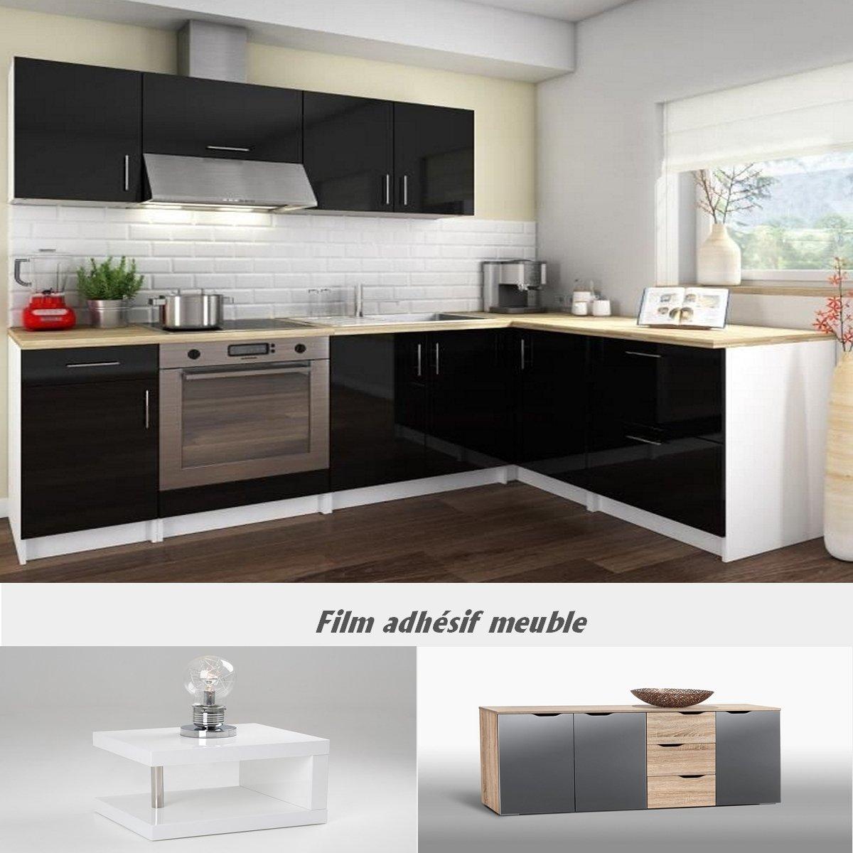Meuble De Cuisine Noir Laqu Meubles Cuisine Ikea U2013
