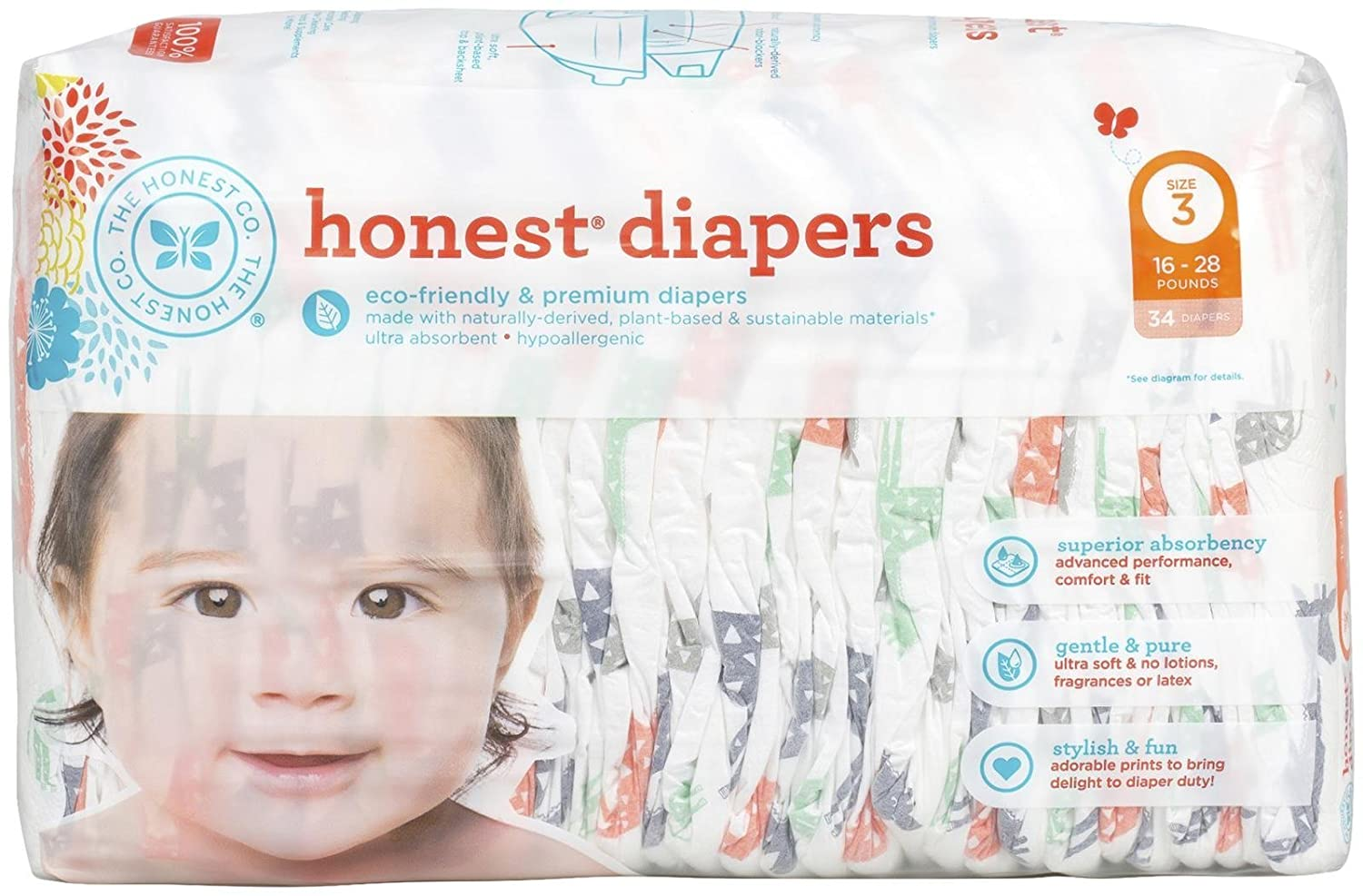 Top 7 Best Natural Disposable Diapers Reviews in 2020 6