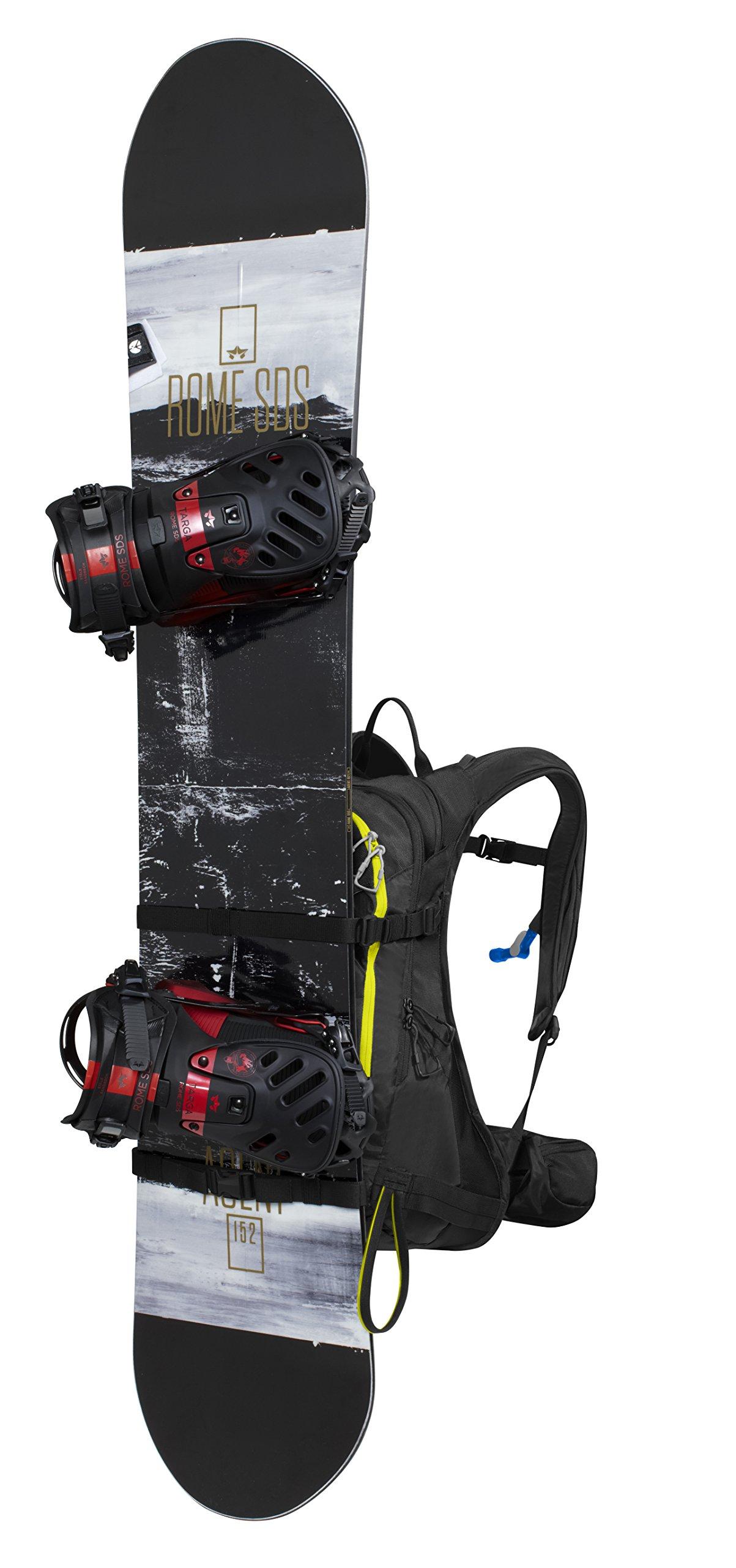 Camelbak Phantom LR 24 Ski Hydration Pack, Black/Sulphur Springs (3L/100oz) by CamelBak (Image #7)