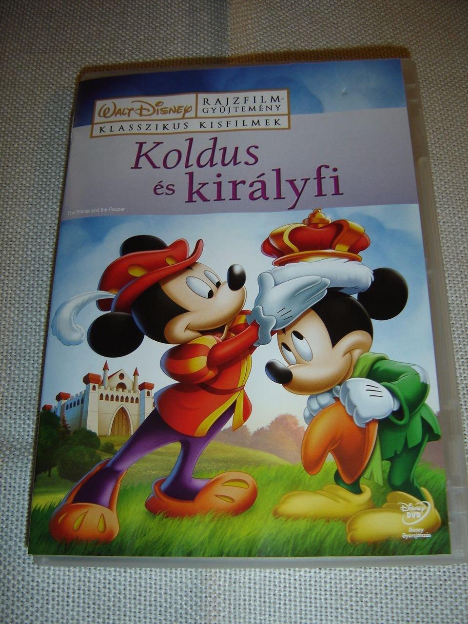 1b16cad8b6a Koldus és királyfi / The Prince and the Pauper / English, Hungarian,  Portuguese, Polish, Greek, Turkish, Arabic, Romanian SOUND and SUBTITLES  [European DVD ...