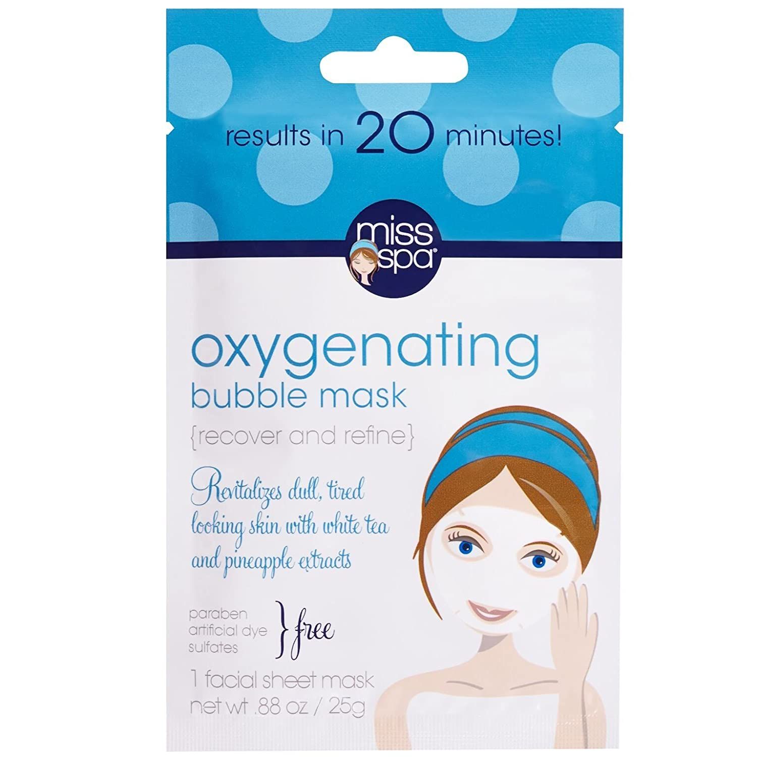 Miss Spa Oxygenating Bubble Mask