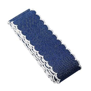 4 Yard Denim Ribbon Jean Ribbon Sewing Trim DIY Hair Bow Clothing Decoration