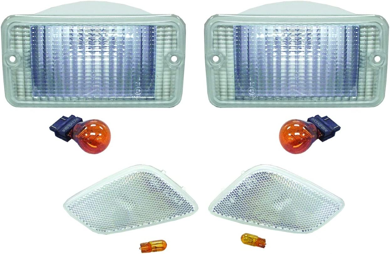 Crown Automotive 994020K Side Marker Light Kit by Crown Automotive