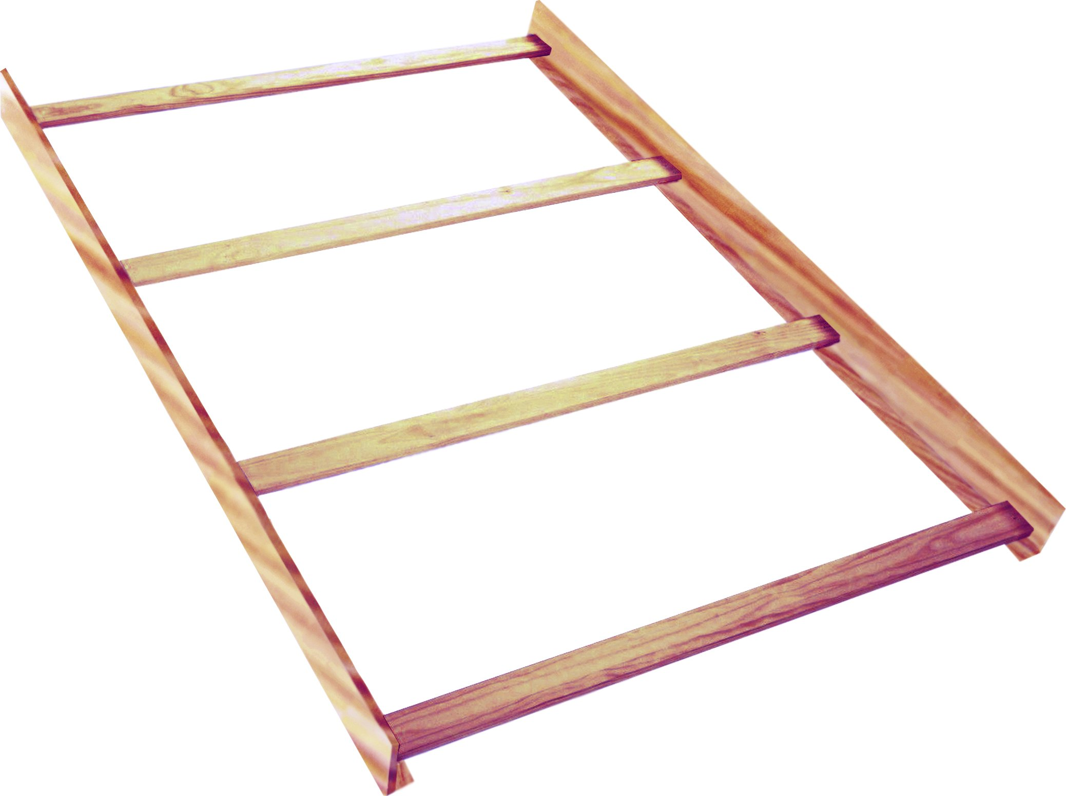 Full Size Conversion Kit Bed Rails for Baby Cache Kensington Cribs - Natural