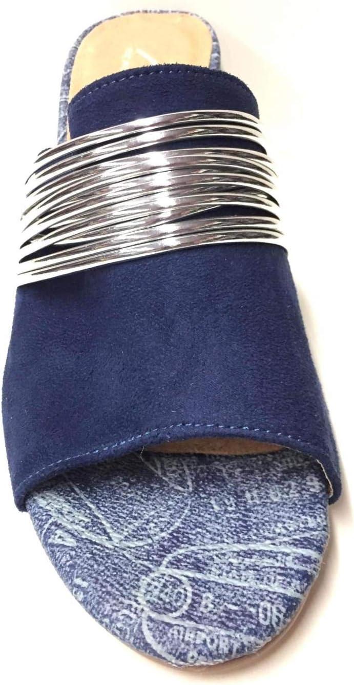 ALV by ALVIERO MARTINI - Sandalias de mujer Cam 41 piel azul original PE 2020 turquesa