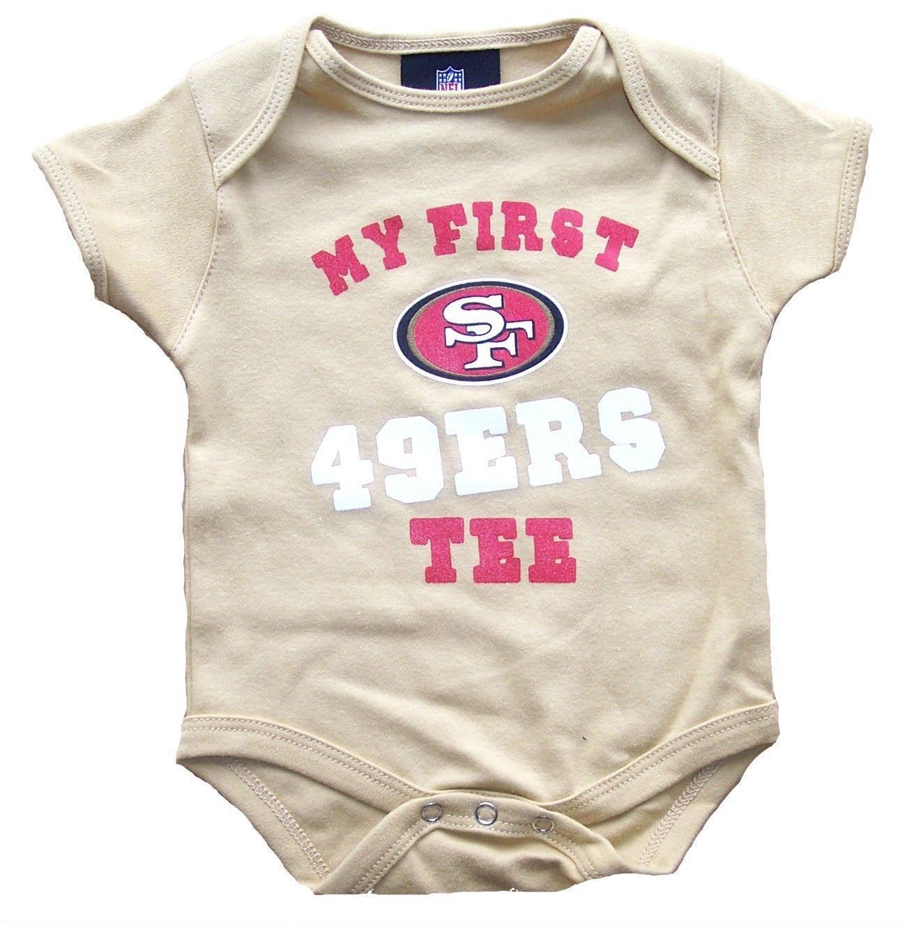 【公式ショップ】 San My Francisco 49ersゴールドInfant Onesieサイズ3 – 6ヶ月ボディースーツクリーパー – – My First 49ersゴールドInfant Tee B072YG9LS8, 水戸元祖 天狗納豆:cb25322b --- a0267596.xsph.ru