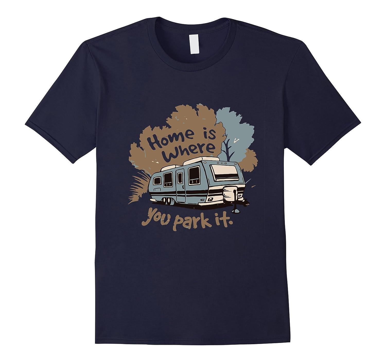 Funny Camping RV T-shirt