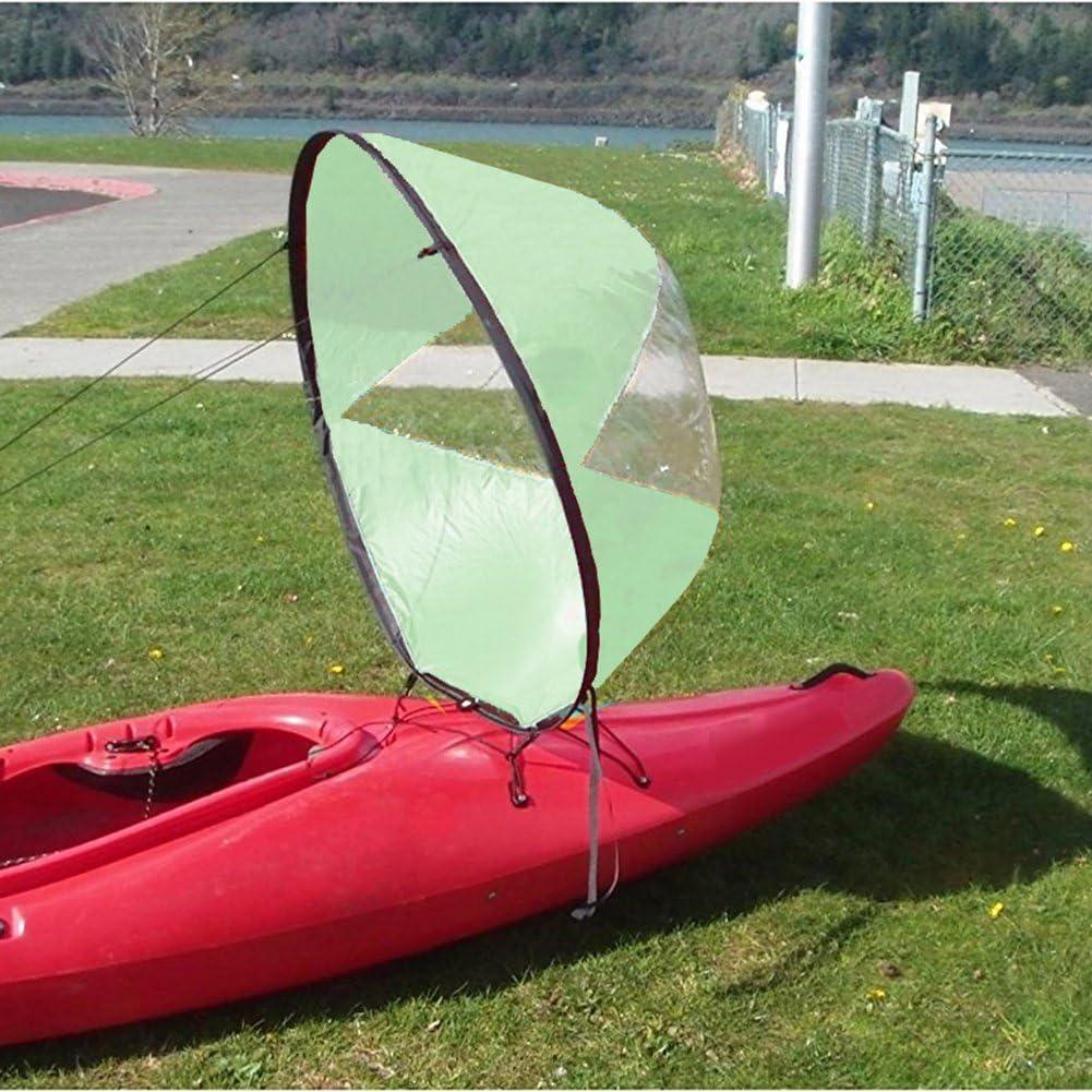 1Stck Boote Kajak Wind Segel-Kajak Boot Segelboot Wind Paddel Segel Faltbar