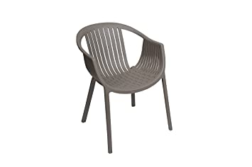 Sunjoy 110207016T Basketweave Chair, Grey