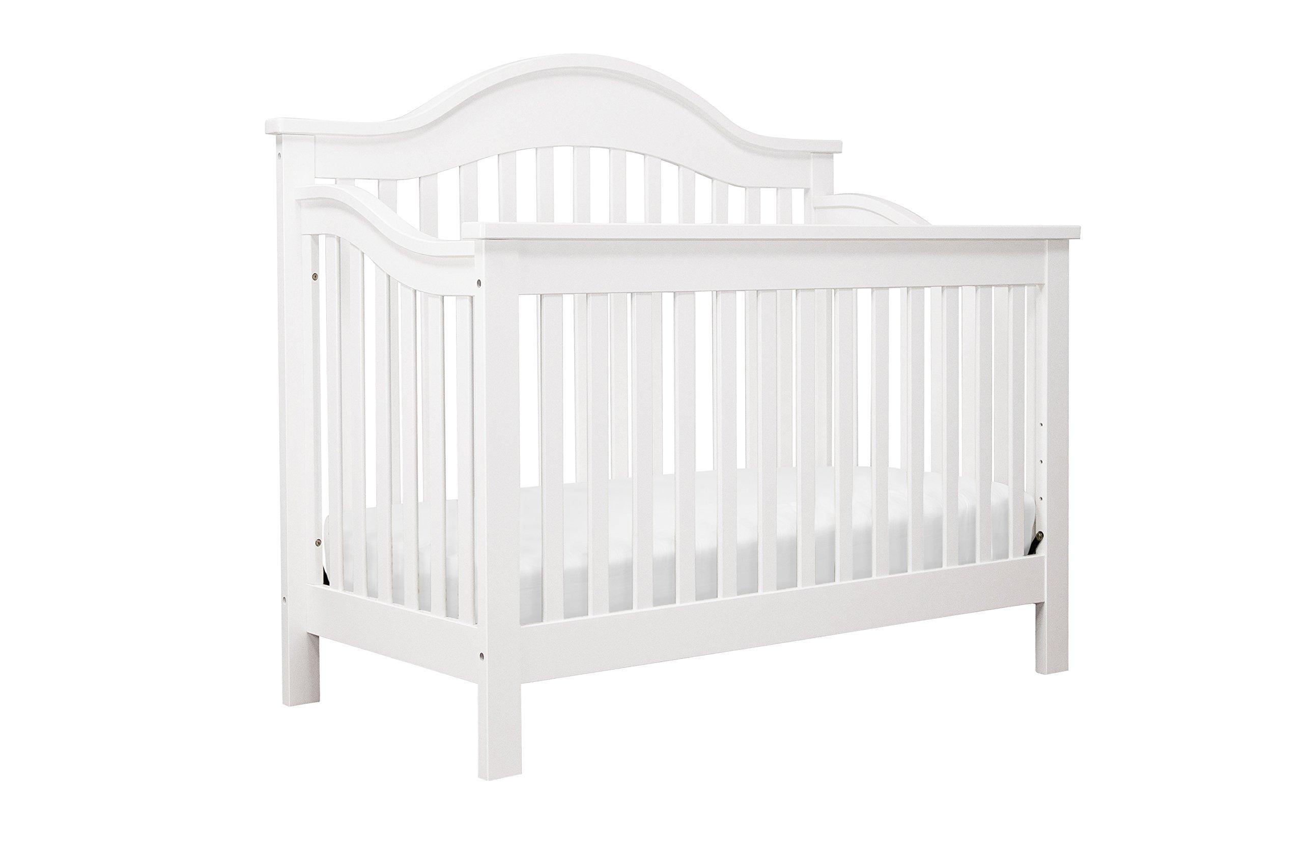 DaVinci Jayden 4-in-1 Convertible Crib, White