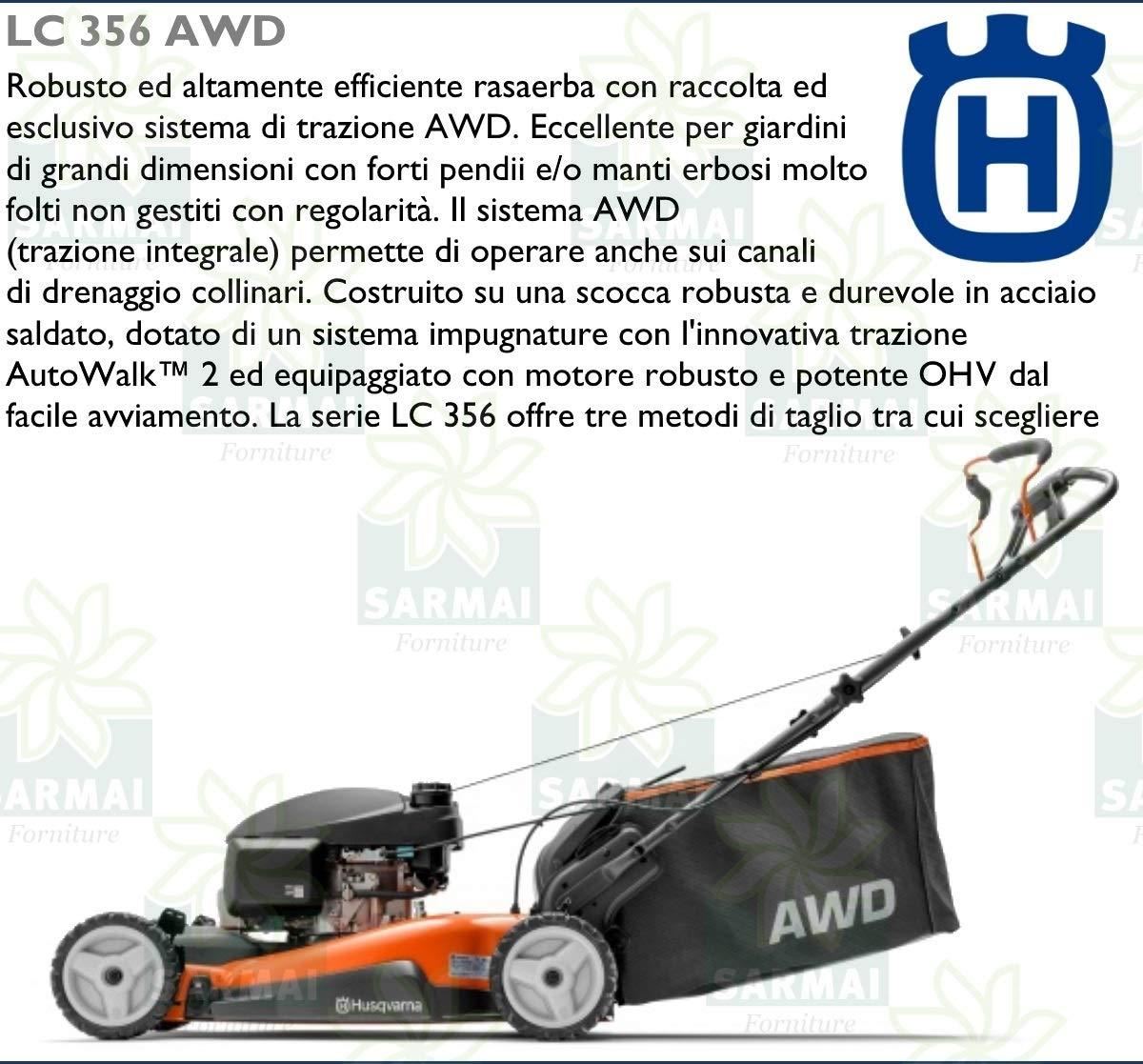 Husqvarna - Cortacésped de explosión LC 356 AWD, cortacésped de ...