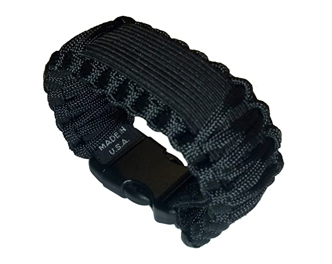 3c6783b2ec0 Image Unavailable. Image not available for. Color  SURVCO Adjustable 550  Para Cord Watch Band ...